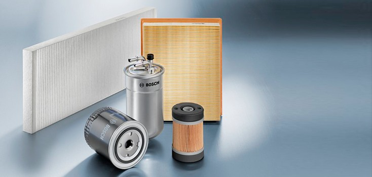 Bosch filters: Bodyguard for the engine